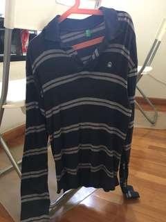 United colours of benetton Long sleeves polo shirt