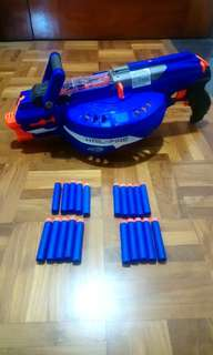 Nerf HAIL FIRE + 20 bullets