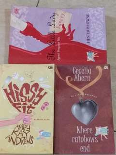 ChickLit (Paket 3 buku) / HISSY FIT / THE LITTLE LADY / WHERE RAINBOWS END