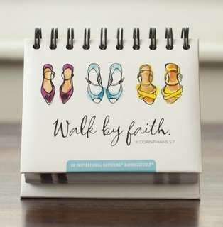 BN 'Walk by Faith' Perpetual Calendar