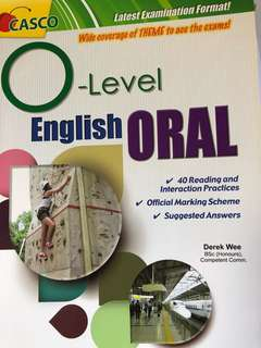 Olevel English oral practice articles