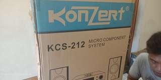 KCS-212 Konzert