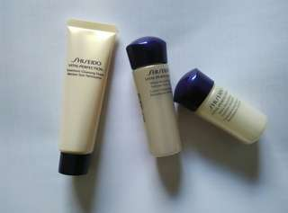 Shiseido Vital Perfection skin care