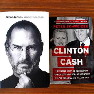 2 for $20: Steve Jobs; Clinton Cash