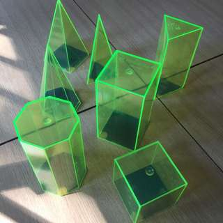 M FORMULA acrylic shapes