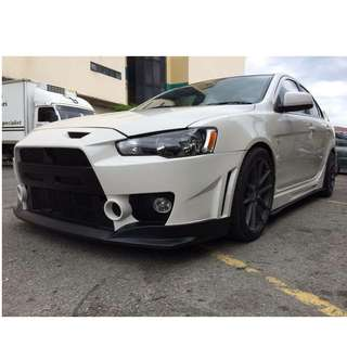 MITSUBISHI EVO X FQ400 BODY KIT FULL SET