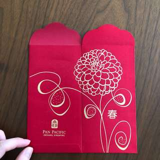 2018 Pan Pacific Hotel (SG) Red packet/ Angpao/ Angpow