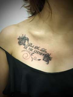 Text Tattoo
