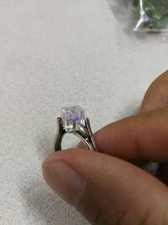 K白金戒指