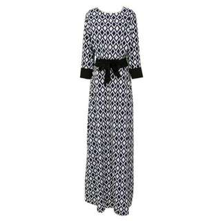 Lattice Robe Dress