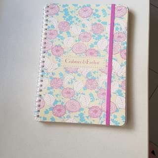 Crabtree and Evelyn journal book