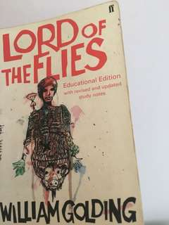 Lord Of The Flies literature book