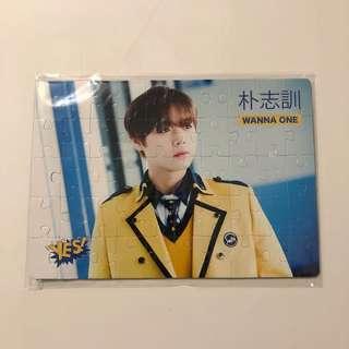 Wanna One Yes! Card 第34期 精品 偶像拼圖滑鼠墊 朴志訓