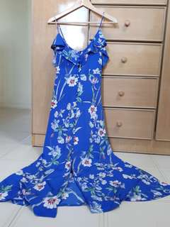 Massimo Dutti-lookalike maxi dress NWOT