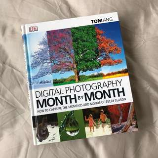 Digital photography month by month book