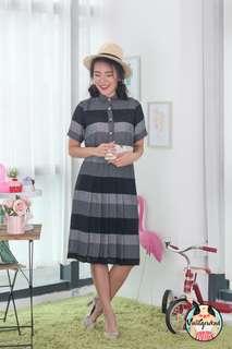🍿 Vintage Midi Dress VD1256