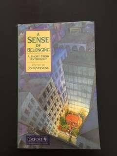 A sense of belonging lit book