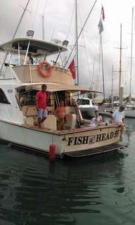 Sports fishing boat 55 ft Ocean super sport USA