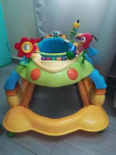 Little Bean 3 in 1 Baby Walker (360 Rotating Seat)/ Activity Center/ Rocker