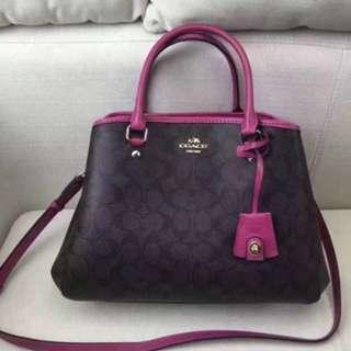 Authentic Coach women Handbag Shoulder Bag crossbody bag sling bag