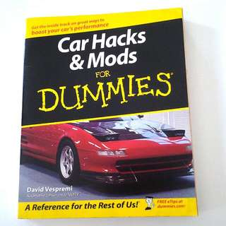 Car Hacks & Mods For Dummies book