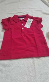 New with tag Ralph Lauren tshirt maroon