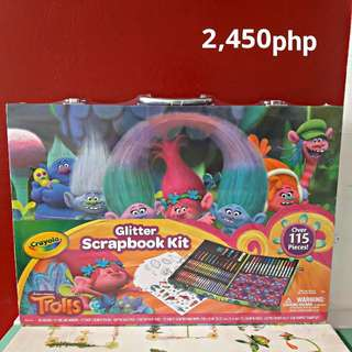 Original Crayola Trolls Scrapbook Kit