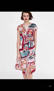 Europe and the United States Women's new sleeveless print dress