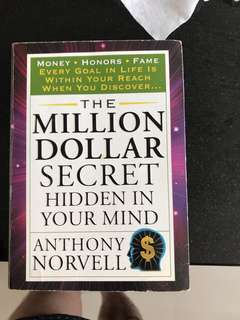 Million dollar secret hidden in your mind Anthony norvell