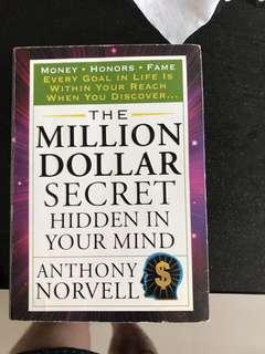 Million dollar secret hidden in your mind Anthony norvell
