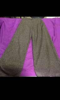 MARVELLOUS MAY'18 SALE-LADIES BROWN LONG FLARE PANTS