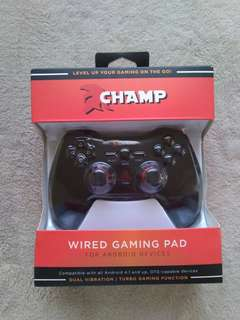 Wired gaming pad/console