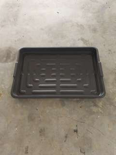 Waterproof Black Tray (Hard Type)