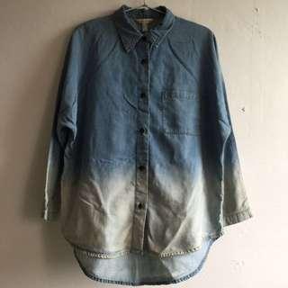 MANGO JEANS dye shirt