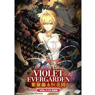 Violet Evergarden Vol.1-13 End 紫罗兰永恒花园 Anime DVD (Eng Dub)