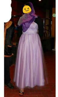Dinner / Prom Princess Dress Kembang XL
