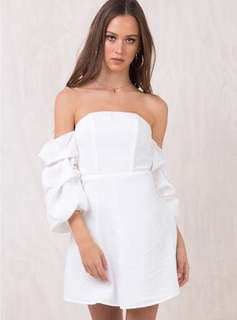 Princess Polly Leona Off-Shoulder Dress