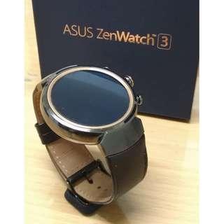 ASUS ZenWatch3 智慧錶-煙燻黑