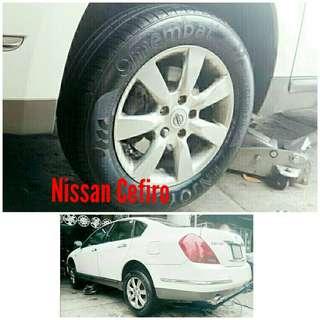 Tyre 215/60 R16 Membat on Nissan Cefiro 🐕 Super Offer 🙋♂️