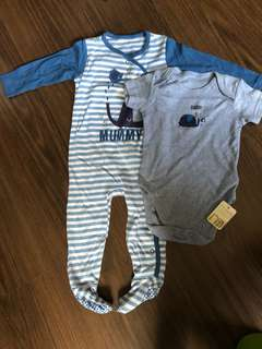 Baby's pajamas and romper - SALE!