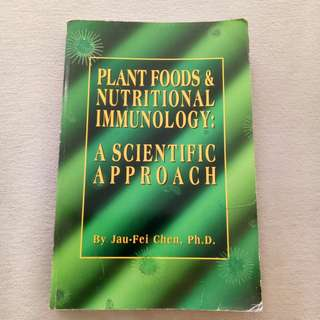 Book: Plant food Nutritionology by Dr Jau-Fei Chen