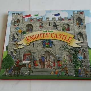 Usborne Peek Inside Knight's Castle