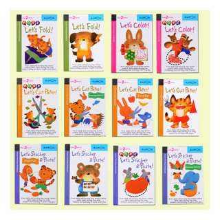 12pc Kumon Pre-School Book - Brand New