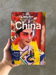 Lonely Planet China. Latest edition, brand new.