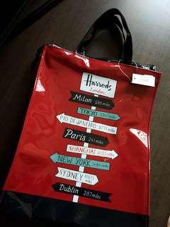 Harrods tote bag *new