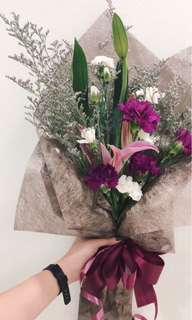 |MOTHER'S DAY BOUQUET| Lily with carnations