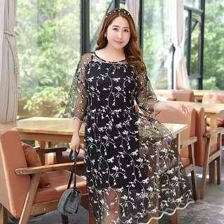 3XL Plus sizes dress-2pics