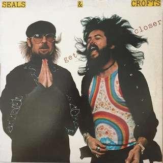 Seals & Crofts Get Closer album on vinyl