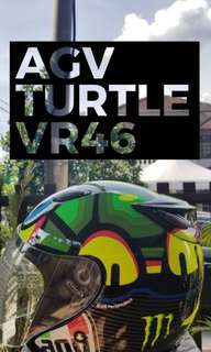 AGV TURTLE VR46 REPLICA - MOTOGP SERIES