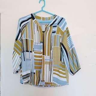 🚚 幾何圖形上衣